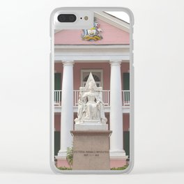Parliament Square, Nassau, The Bahamas Clear iPhone Case