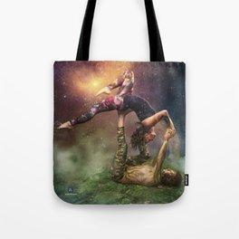 Cosmic Unity Tote Bag