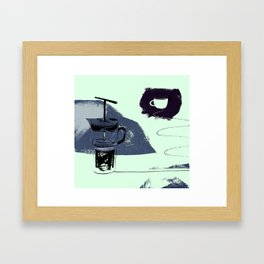 French Pressure Framed Art Print