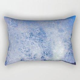 Lake Michigan Natural Fountains #3 (Chicago Waves Collection) Rectangular Pillow