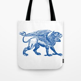 Gryphon-Blue Tote Bag