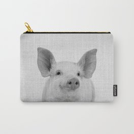 Pig - Black & White Carry-All Pouch