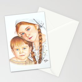Siblings' love Stationery Cards