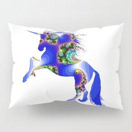 Magic Blue Unicorn Pillow Sham