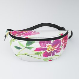 Miniature Rose Fanny Pack