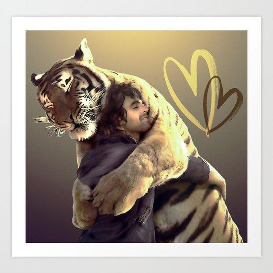 Big Hug-Big Love Art Print