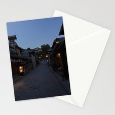 Nighttime Japan Stationery Cards
