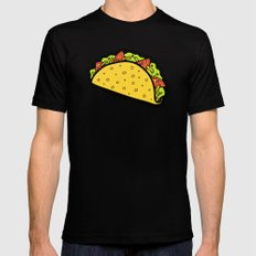 It's Taco Time! Black Mens Fitted Tee X-LARGE