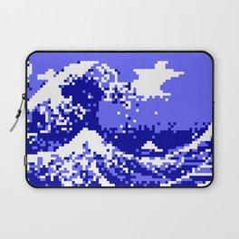 Pixel Tsunami Laptop Sleeve