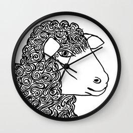 I am not  happy and I am not sad Wall Clock