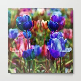 A Floral Dream of Spring Metal Print