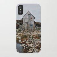 hiking iPhone & iPod Cases featuring Hiking Tasmania by Dan Grady