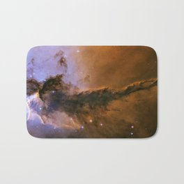 The Fairy of Eagle Nebula Bath Mat