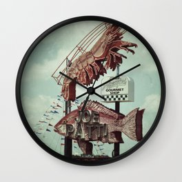 Crawdaddy Wall Clock