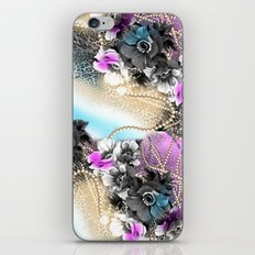 Bible Leopard With Flowers iPhone & iPod Skin