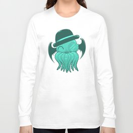 Classy Cthulhu  Long Sleeve T-shirt