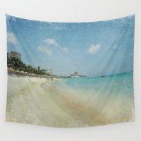 Vintage Aruba Wall Tapestry