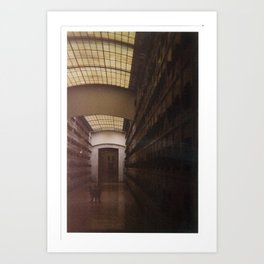 Mausoleum Art Print