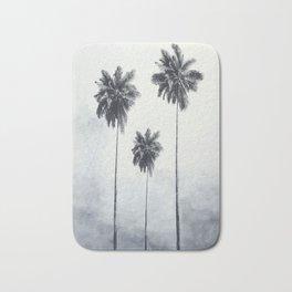 Three Palm Trees Bath Mat