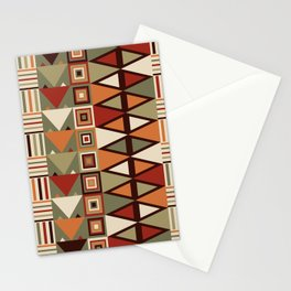 Savanna drums Stationery Cards