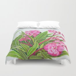 Oleanders Duvet Cover