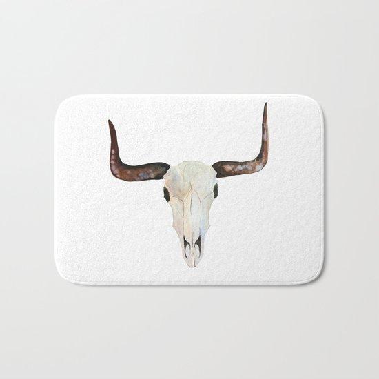 Animal Skull Bath Mat