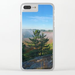 Brisk Morning Clear iPhone Case