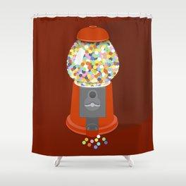 Gumball Machine Shower Curtain