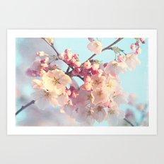 waiting for spring Art Print