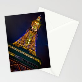 Sapporo TV Tower 9:30 - Sapporo , Hokkaido - Japan Stationery Cards