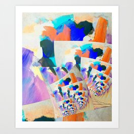 Untitled Abstract 1 Art Print