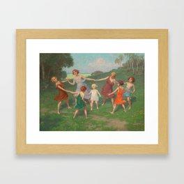 Simon Glücklich - Blinde Kuh Framed Art Print