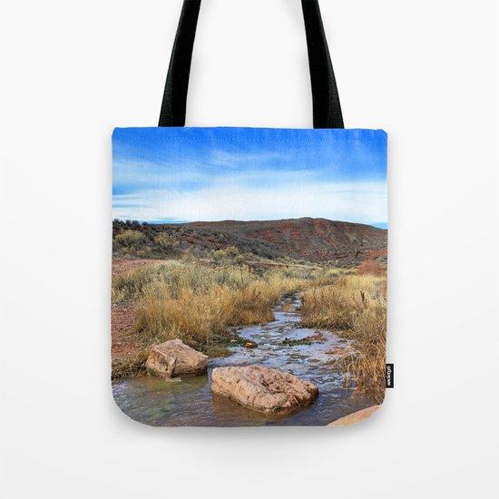 Sand Creek Tote Bag