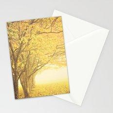 Gold season Stationery Cards