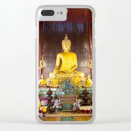 Wat Phan Tao, Chiang Mai, Thailand Clear iPhone Case