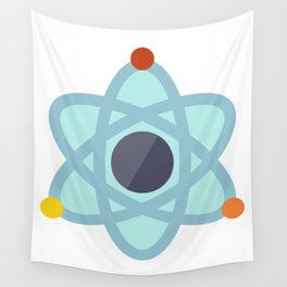 Atom Icon Wall Tapestry
