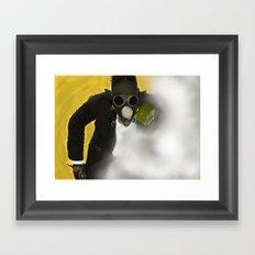 Gas  Framed Art Print