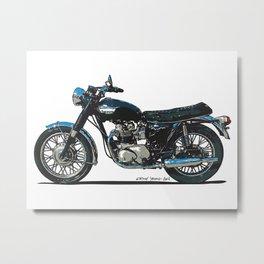 TRIUMPH BONNEVILLE T100 Metal Print