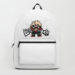 My Hero Academia Katsuki Bakugo BOOOM!! Backpack
