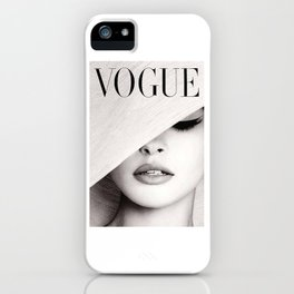 VOGU MAGAZINE COVER iPhone Case