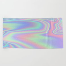 Iridescent  Beach Towel