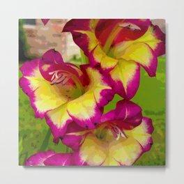 Ocean Breeze Gladiolus 2  Metal Print