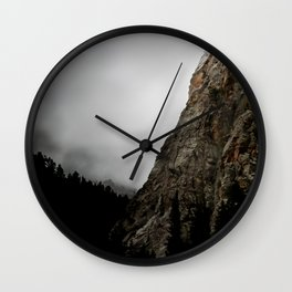 Dark Canyon Wall Clock