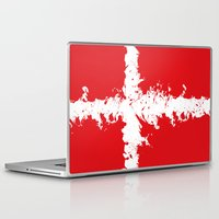 denmark Laptop & iPad Skins featuring in to the sky, Denmark  by seb mcnulty