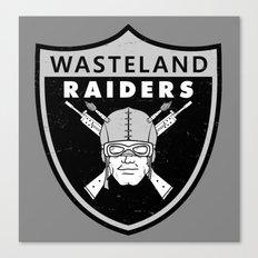 Wasteland Raiders Canvas Print
