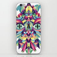 majoras mask iPhone & iPod Skins featuring Mask by Cobrinha