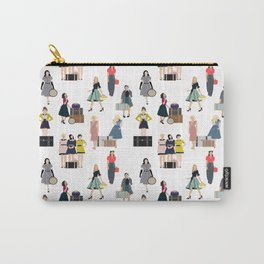 Vintage Travel Carry-All Pouch