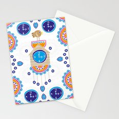 Lucky Evil Eye Cuckoo Clock Stationery Cards