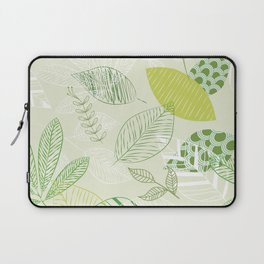 Green foliage Laptop Sleeve