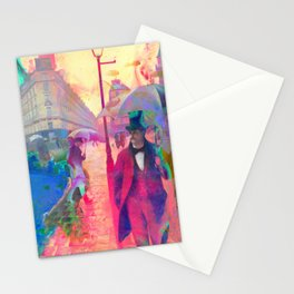 Watercolour Showers Stationery Cards